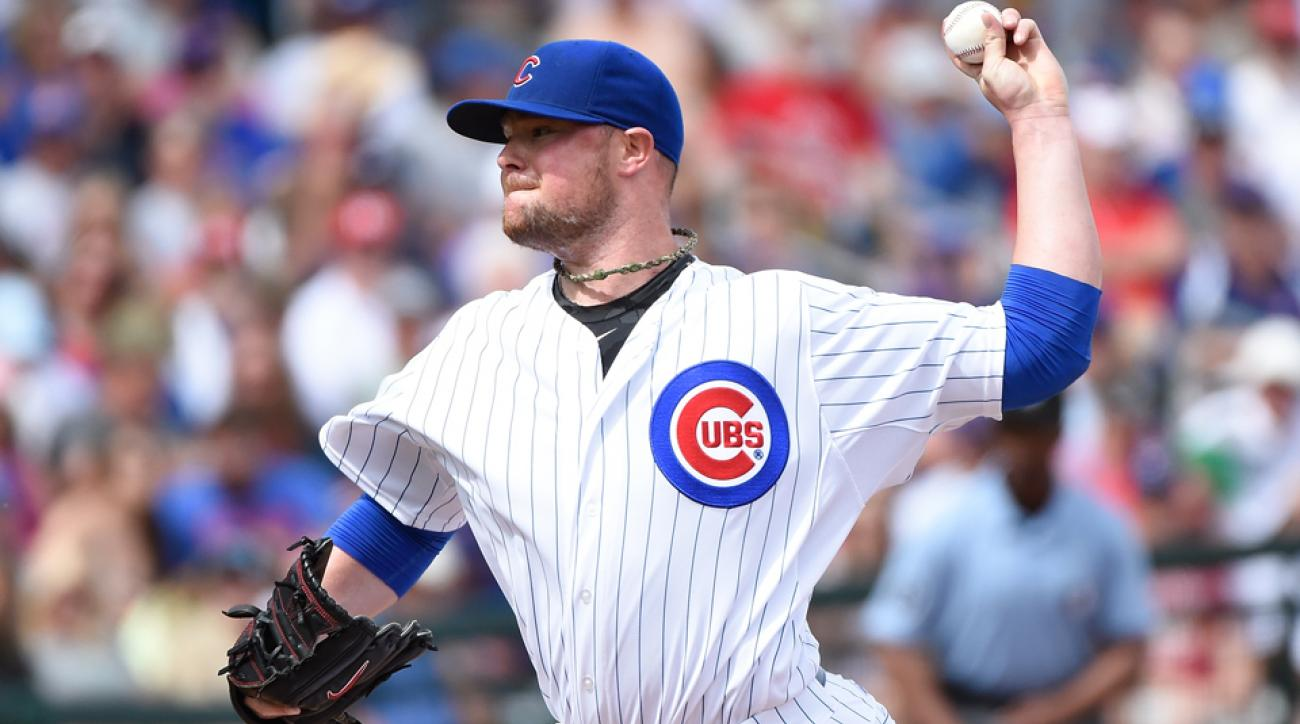 Jon Lester has dead arm and will sit out his next Chicago Cubs start.
