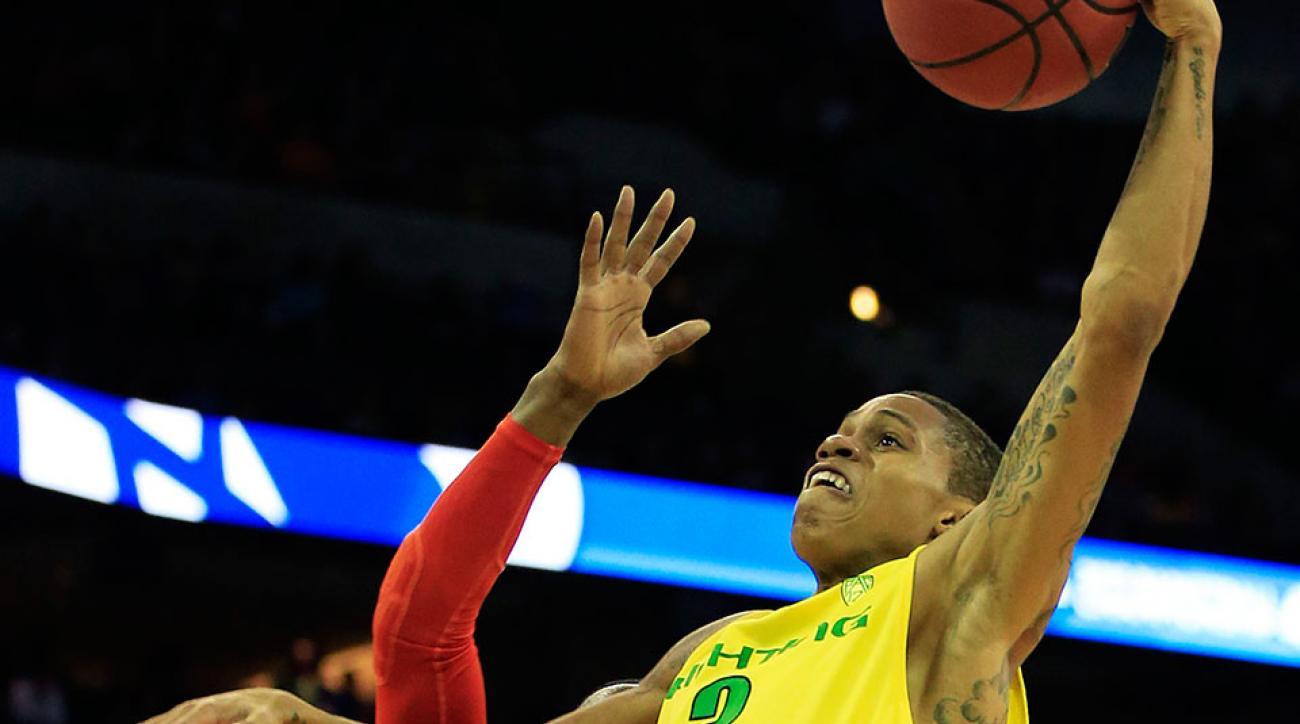 Oregon Joseph Young dunk