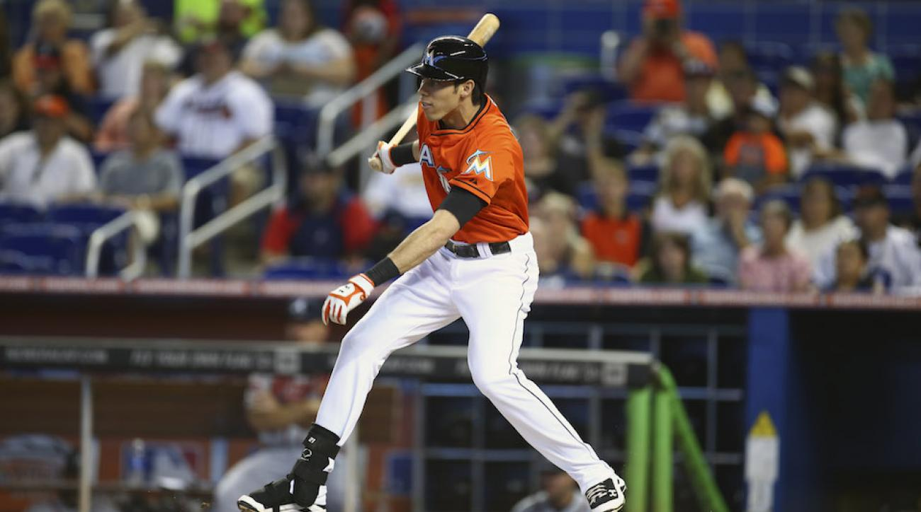 Marlins Yelich $49 million contract giancarlo stanton mike redmond