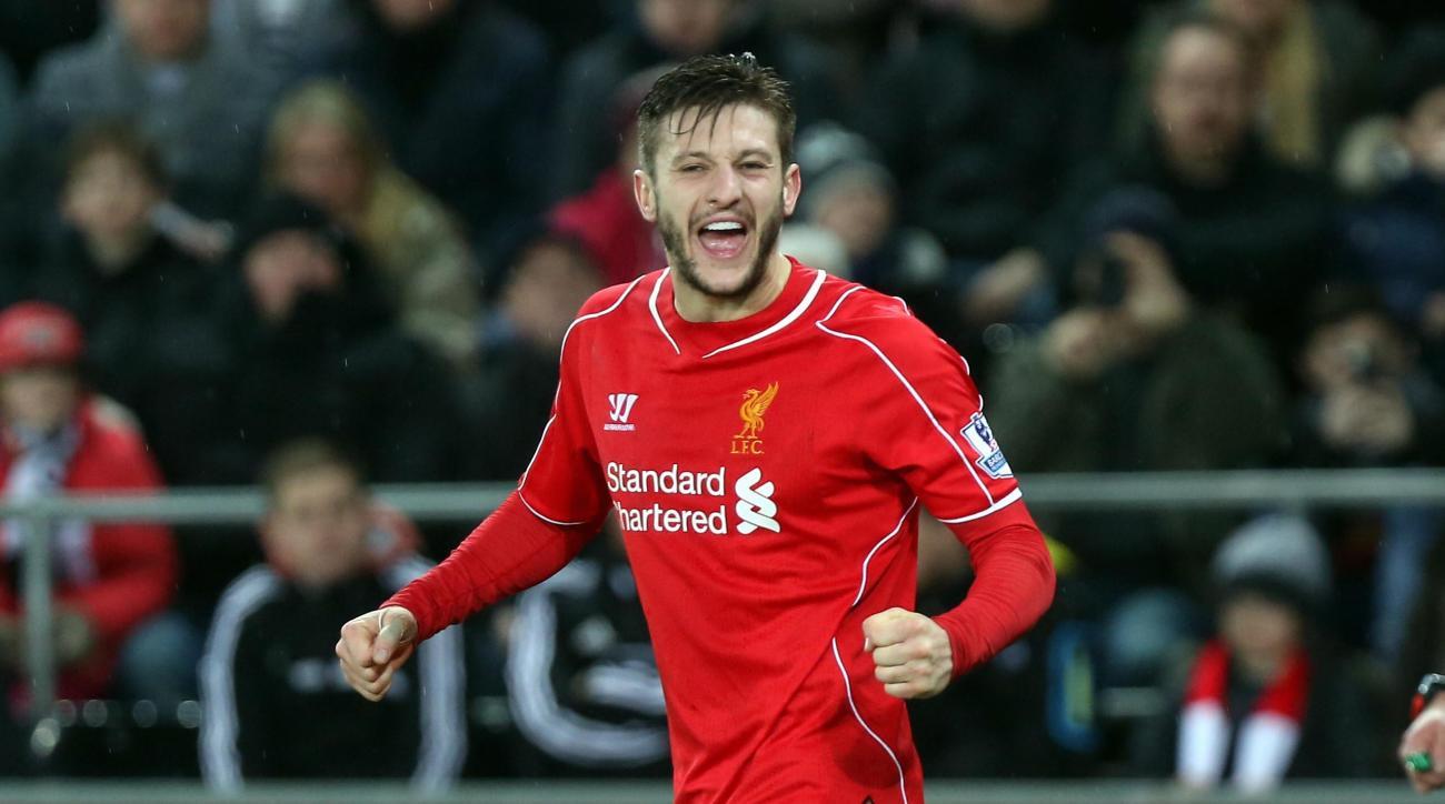 Adam Lallana groin injury Liverpool England