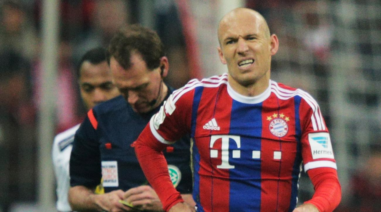 Arjen Robben injury