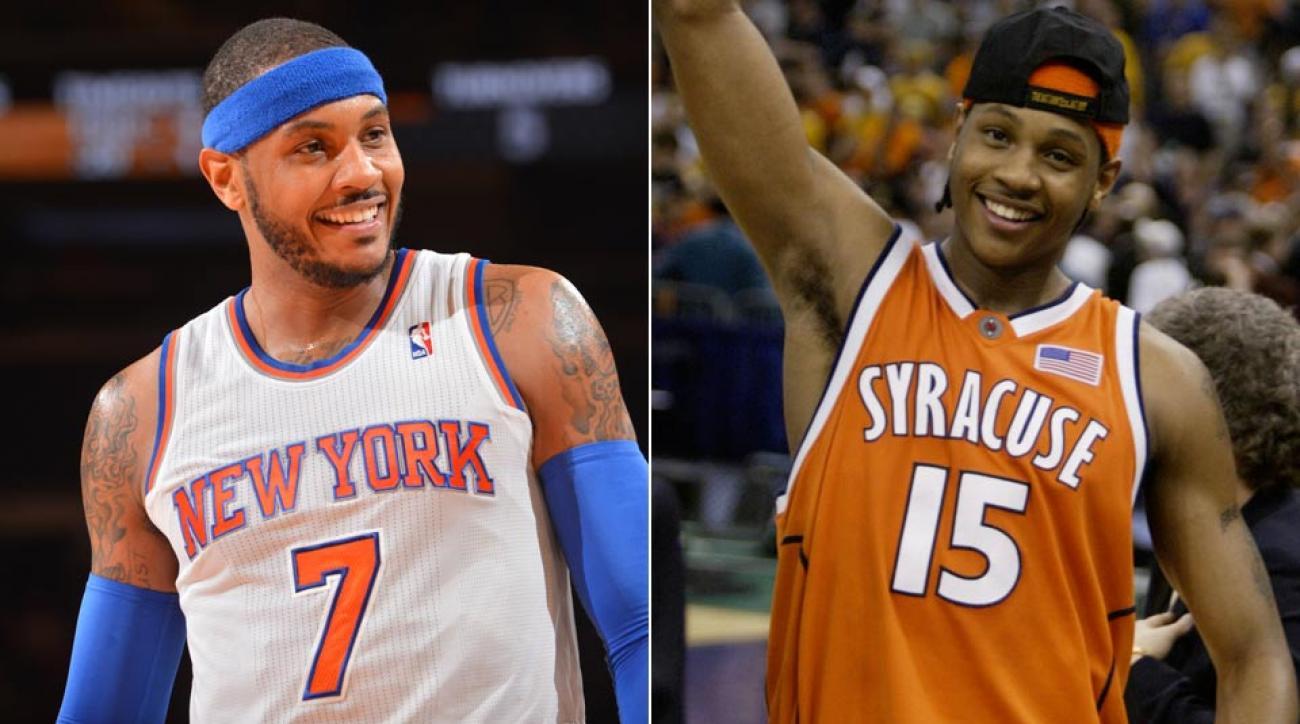 Knicks' Carmelo Anthony
