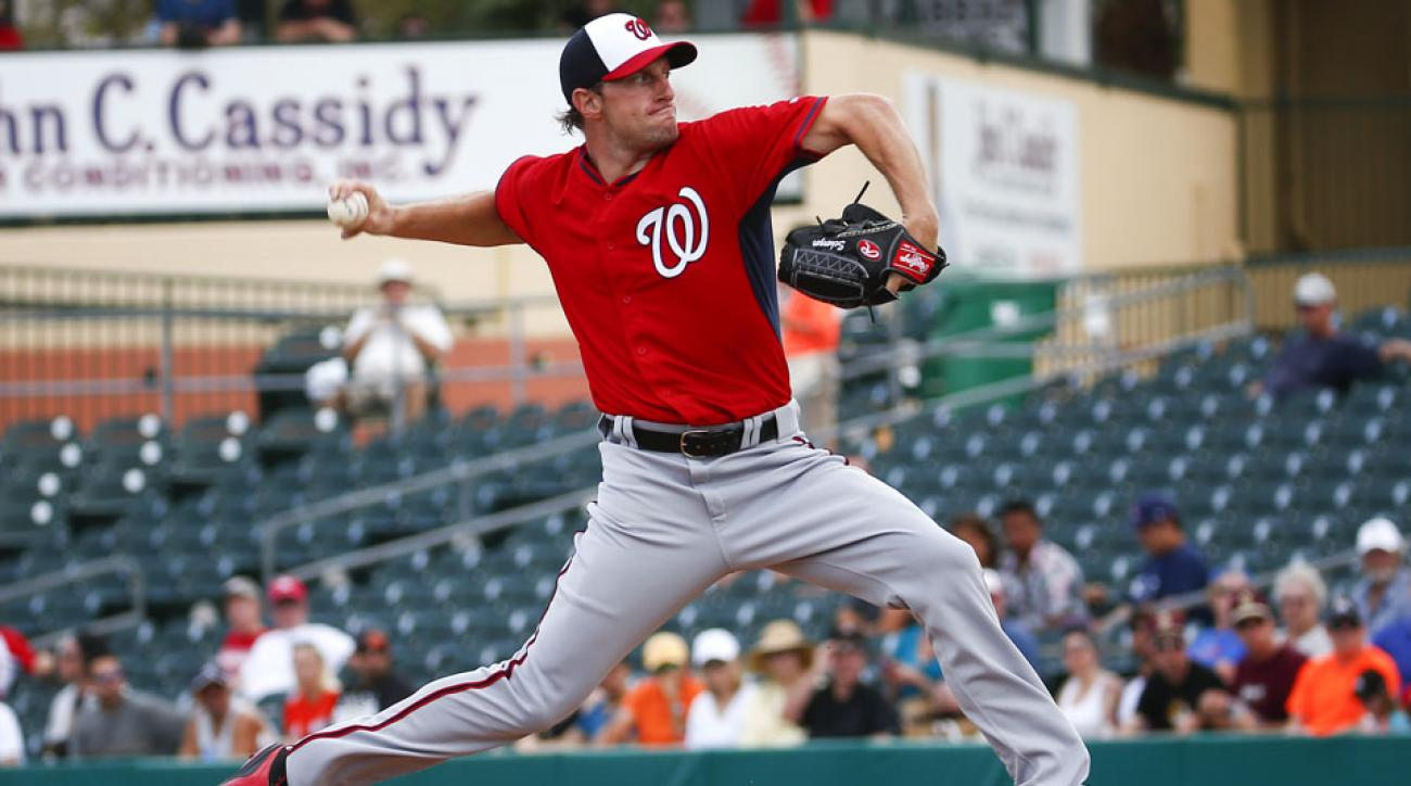 Max Scherzer the opening day starter for Nationals