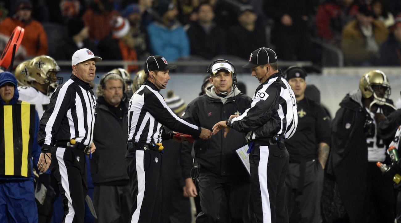 nfl injury spotters stop play referees