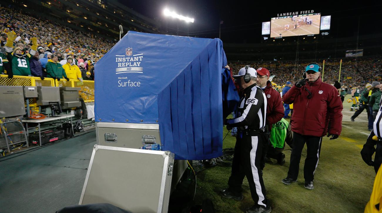 Packers instant replay changes