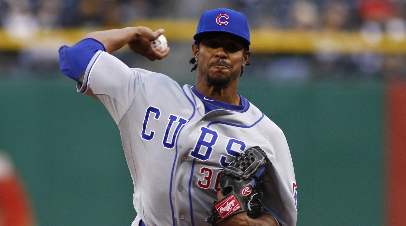 chicago cubs edwin jackson stuck traffic