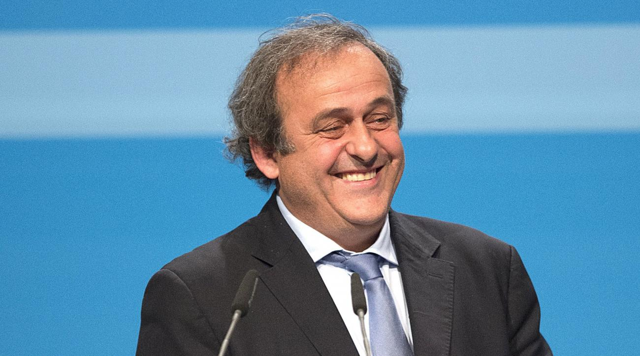 Michel Platini re-elected UEFA president