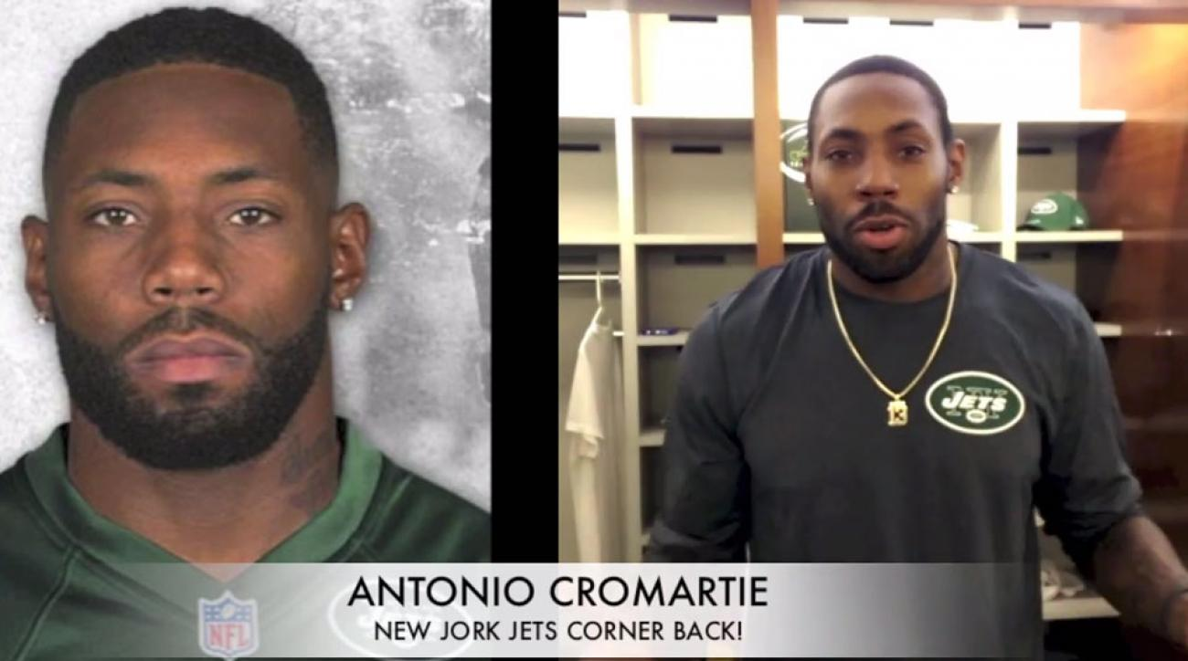 New York Jets Antonio Cromartie