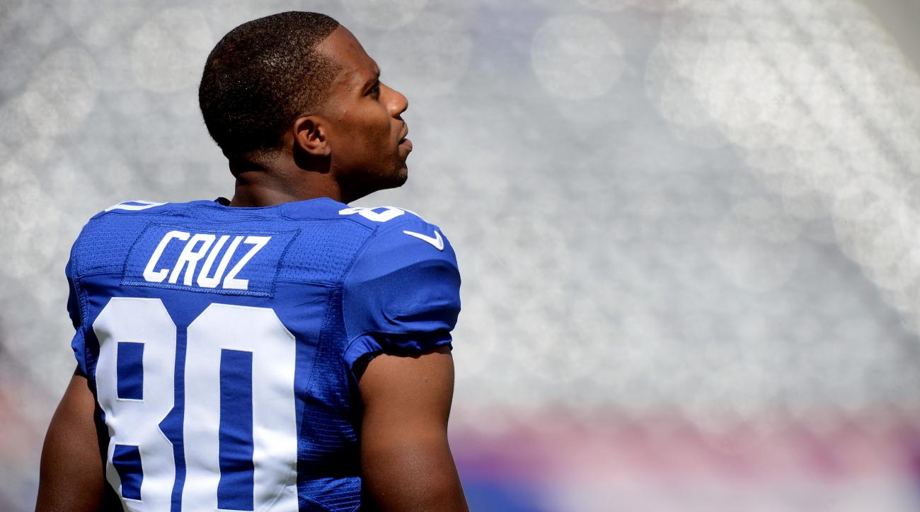 Victor Cruz Giants recovery