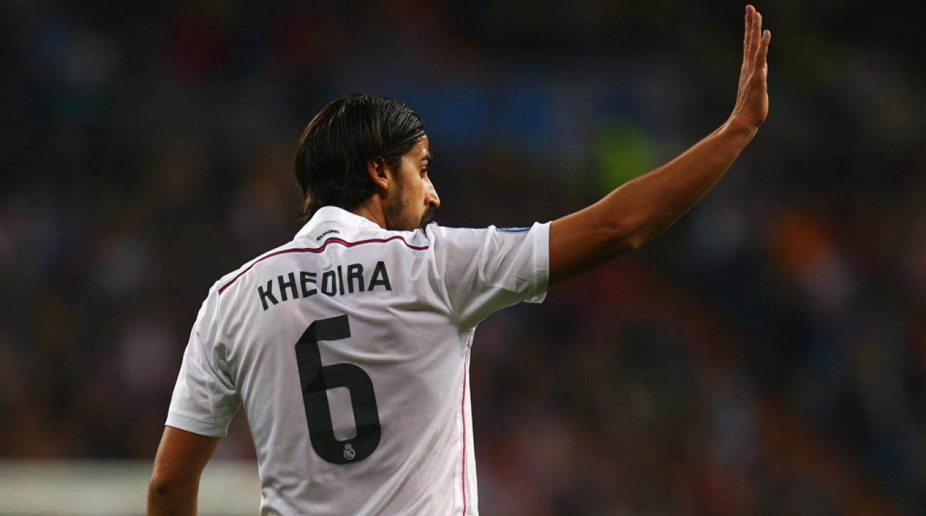 Sami Khedira will leave Real Madrid when his contract expires in June.