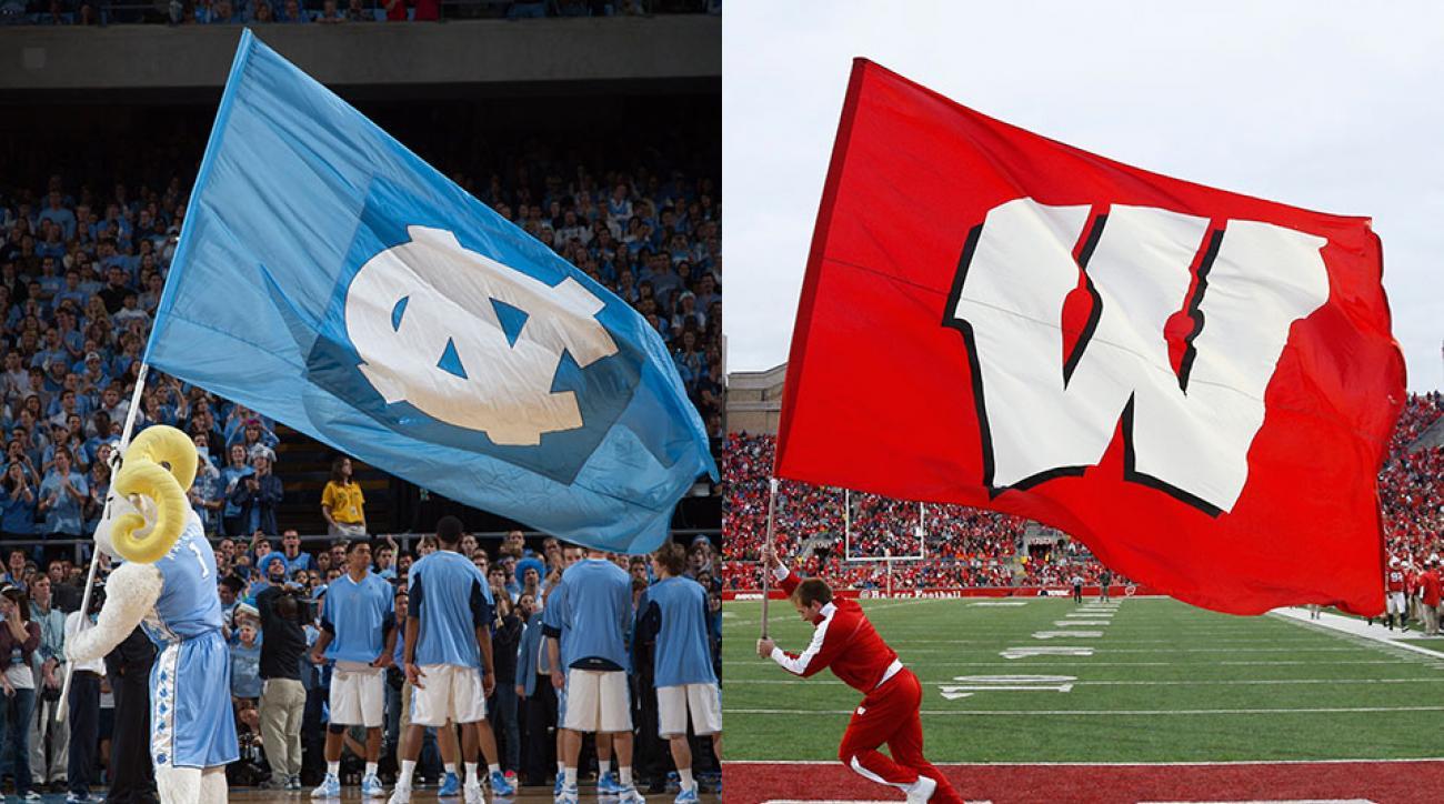 UNC vs Wisconsin Sweet 16