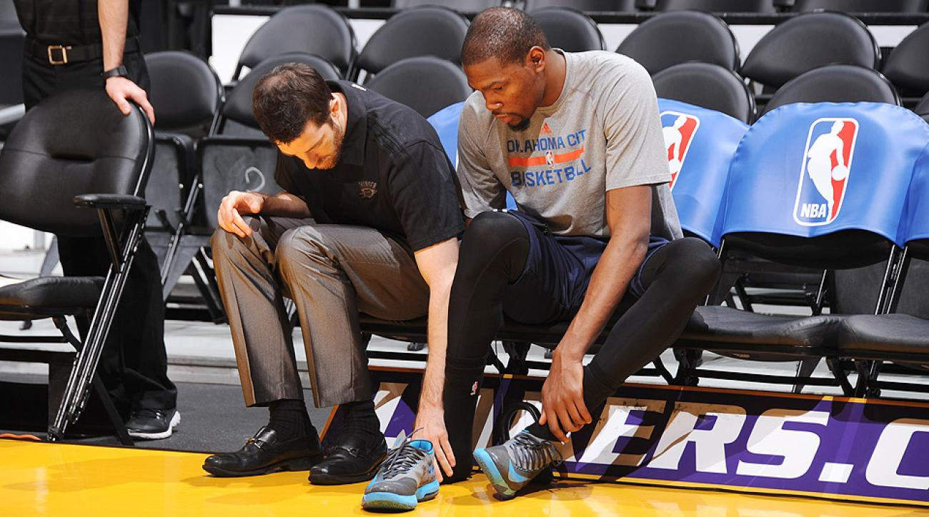 Kevin Durant will undergo season-ending surgery on his right foot.