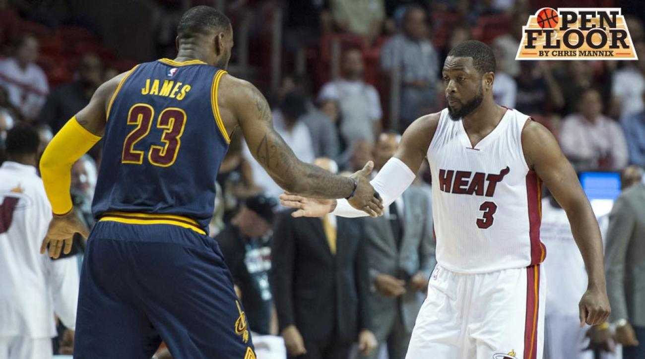 LeBron James; Dwyane Wade