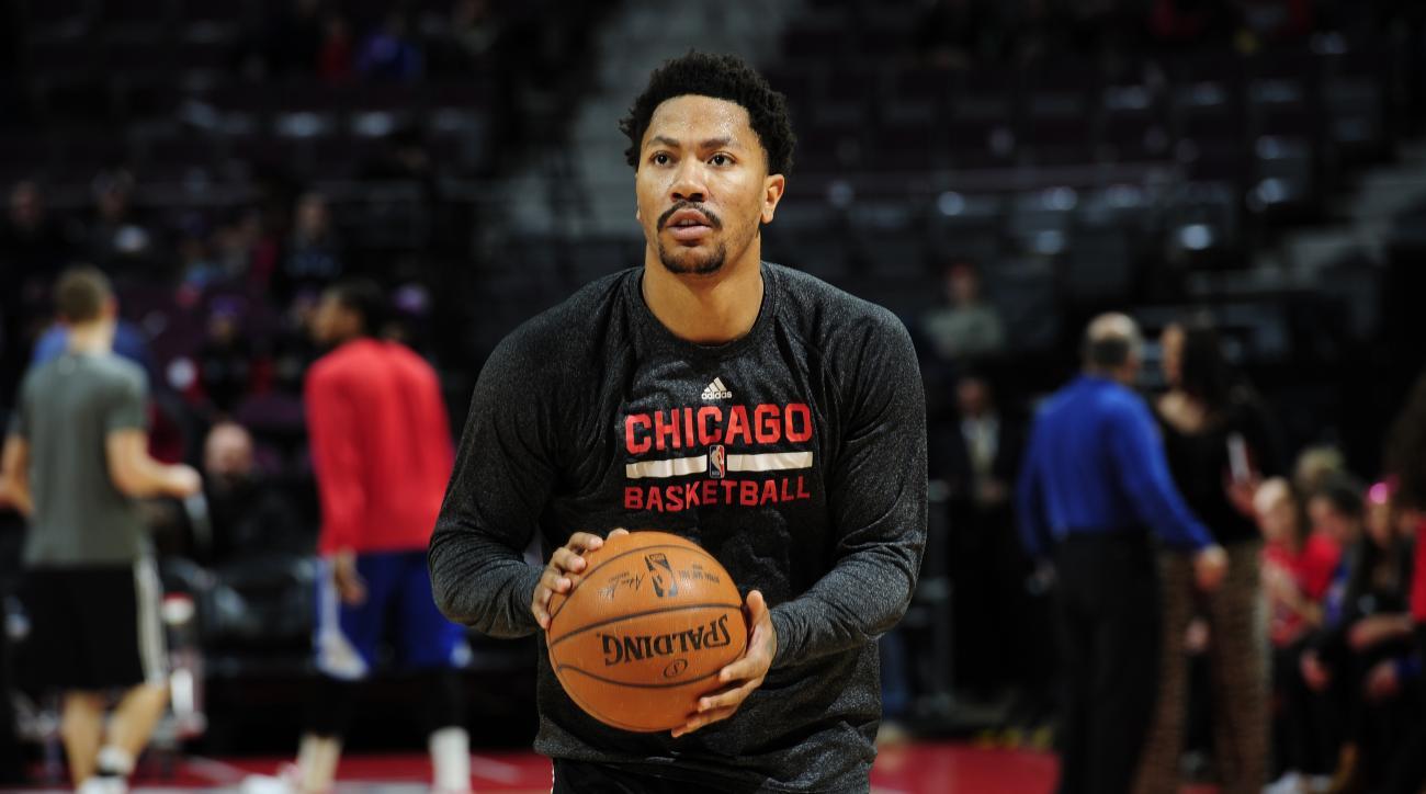 57296be7ec55 Derrick Rose return  Bulls PG takes full contact at practice