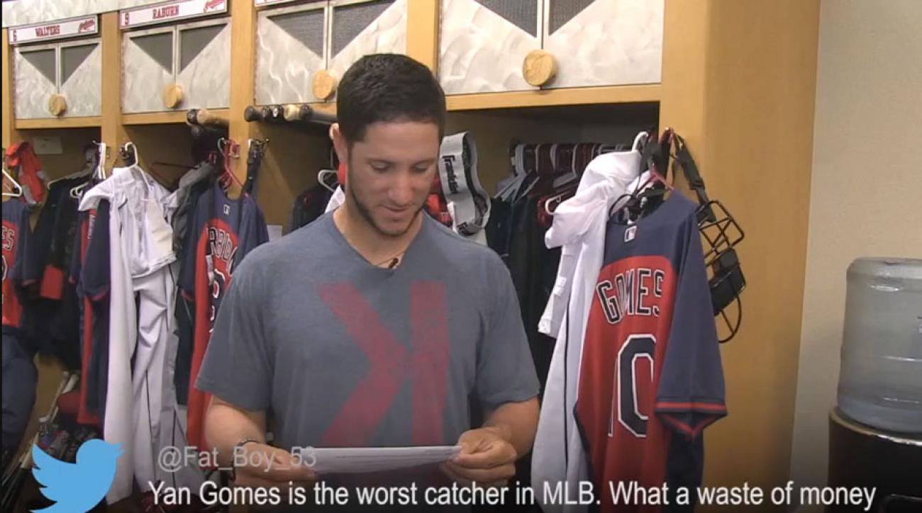 Cleveland Indians mean tweets
