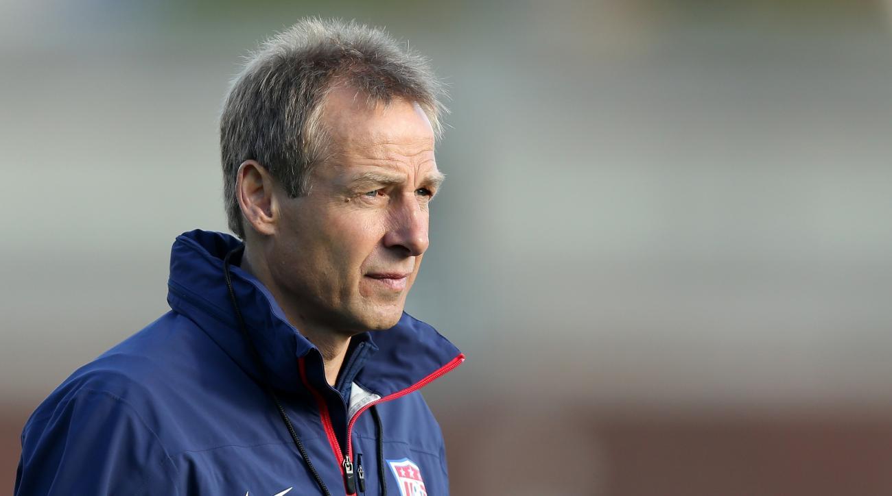 Jurgen Klinsmann USMNT head coach