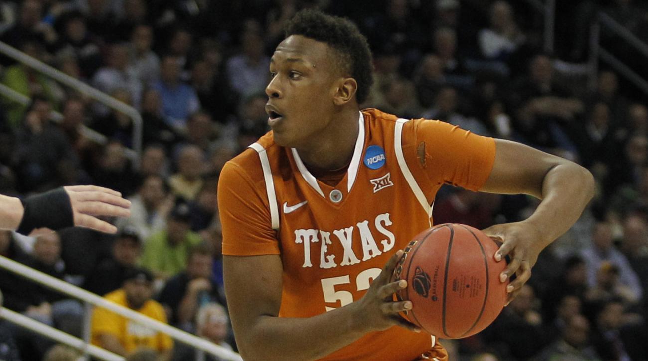 Myles Turner NBA draft Texas