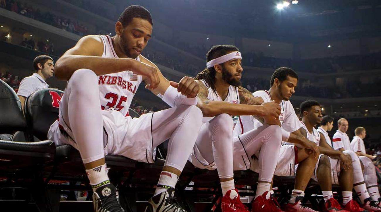 tim miles nebraska pitchford bans players leaves