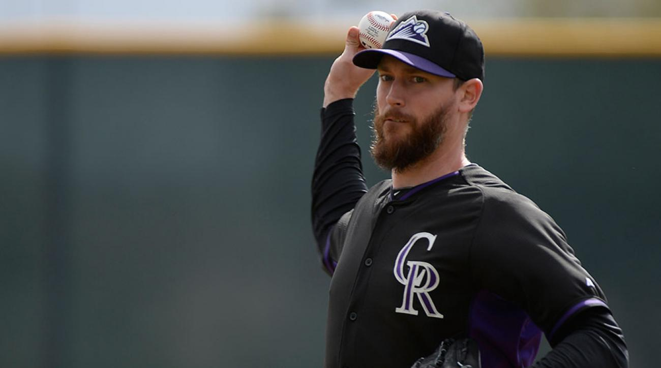 Colorado Rockies John Axford
