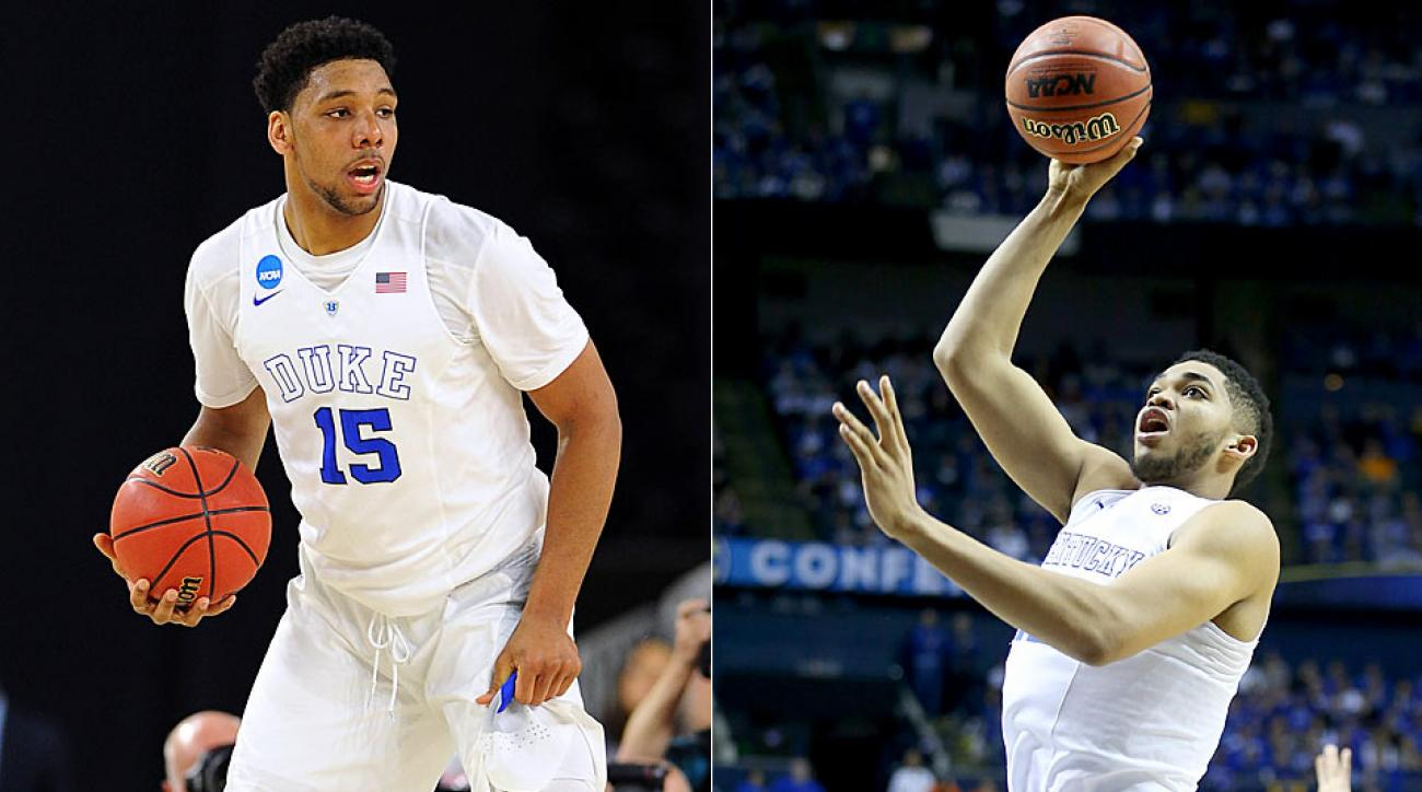 Okafor vs. Towns NBA draft debate