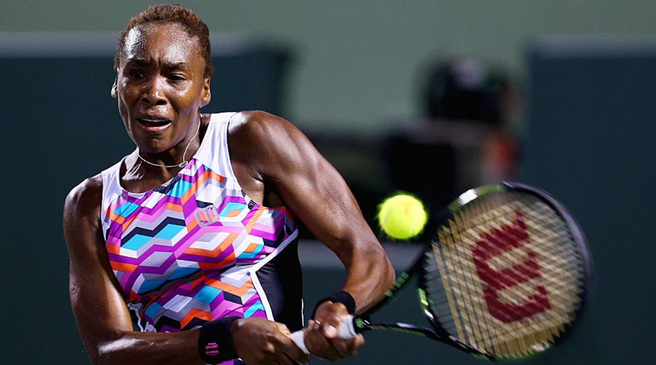 Venus Williams loses to Carla Suarez Navarro