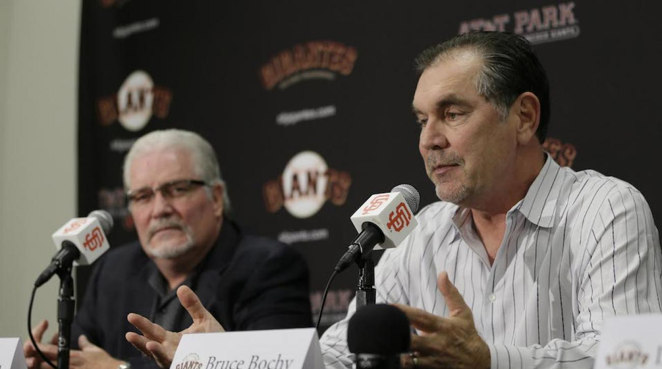 bruce bochy brian sabean contract extension giants win world series