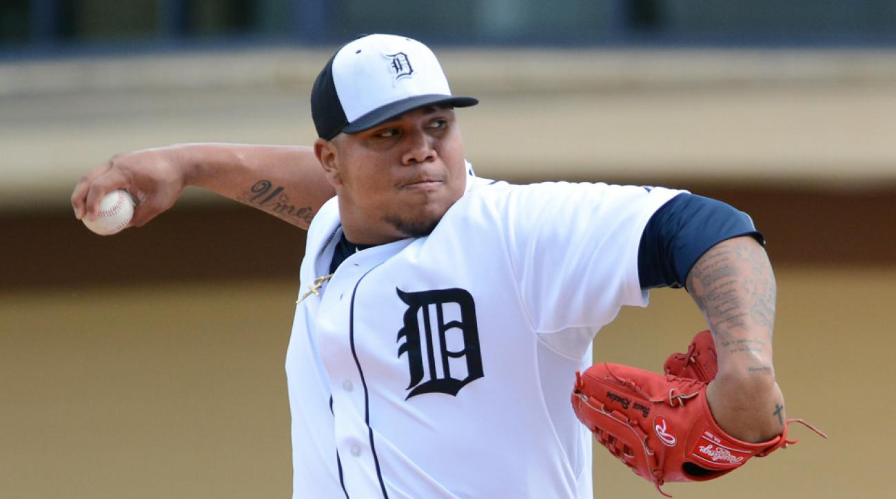 Tigers P Bruce Rondon has tendinitis in shoulder
