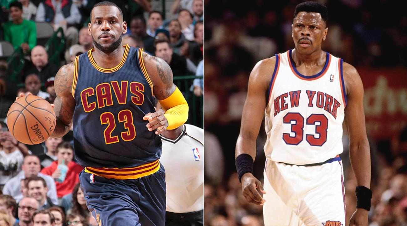 NBA all time scoring list LeBron James passes Patrick Ewing for