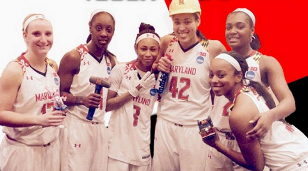 Maryland women's team keeps winning fresh with postgame awards