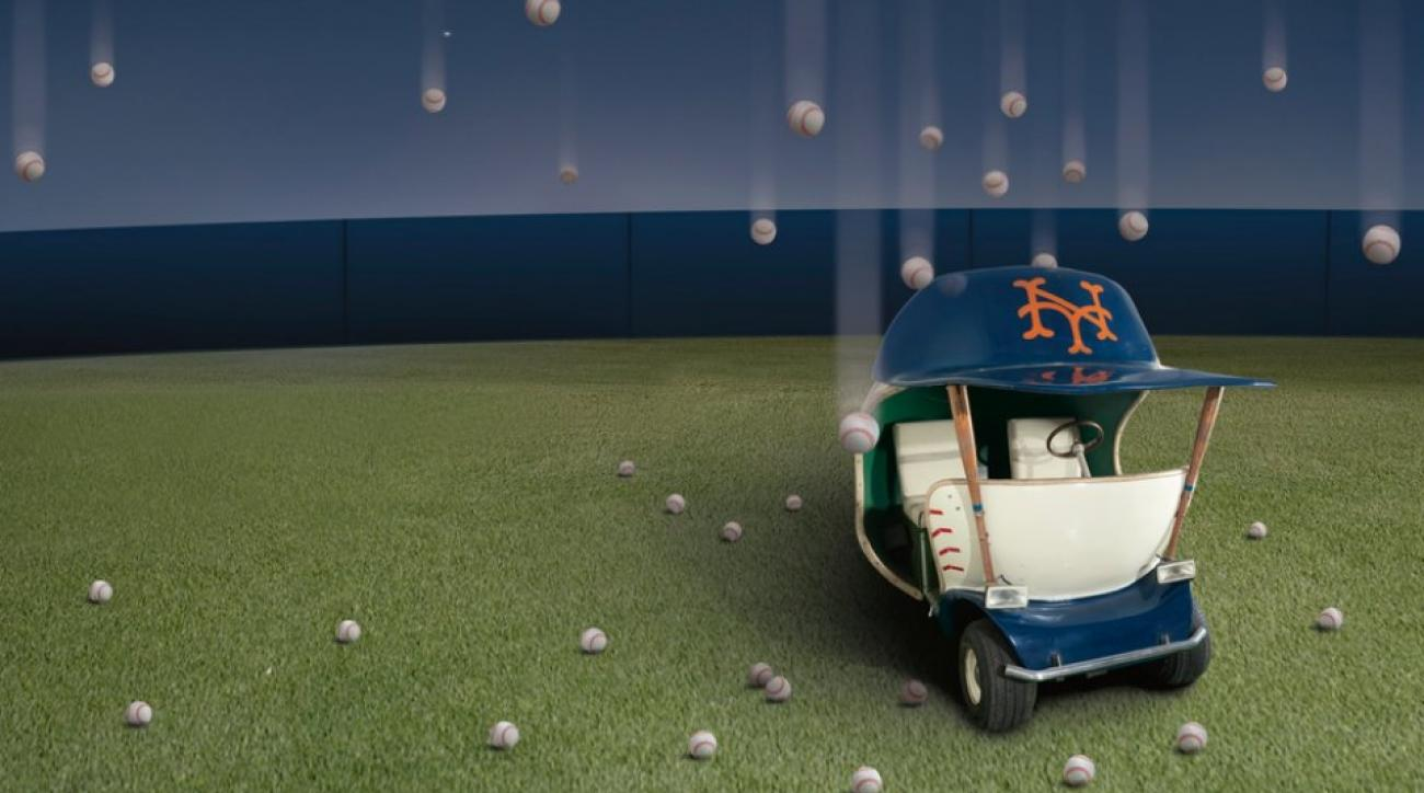 New York Mets Bullpen Cart Auction