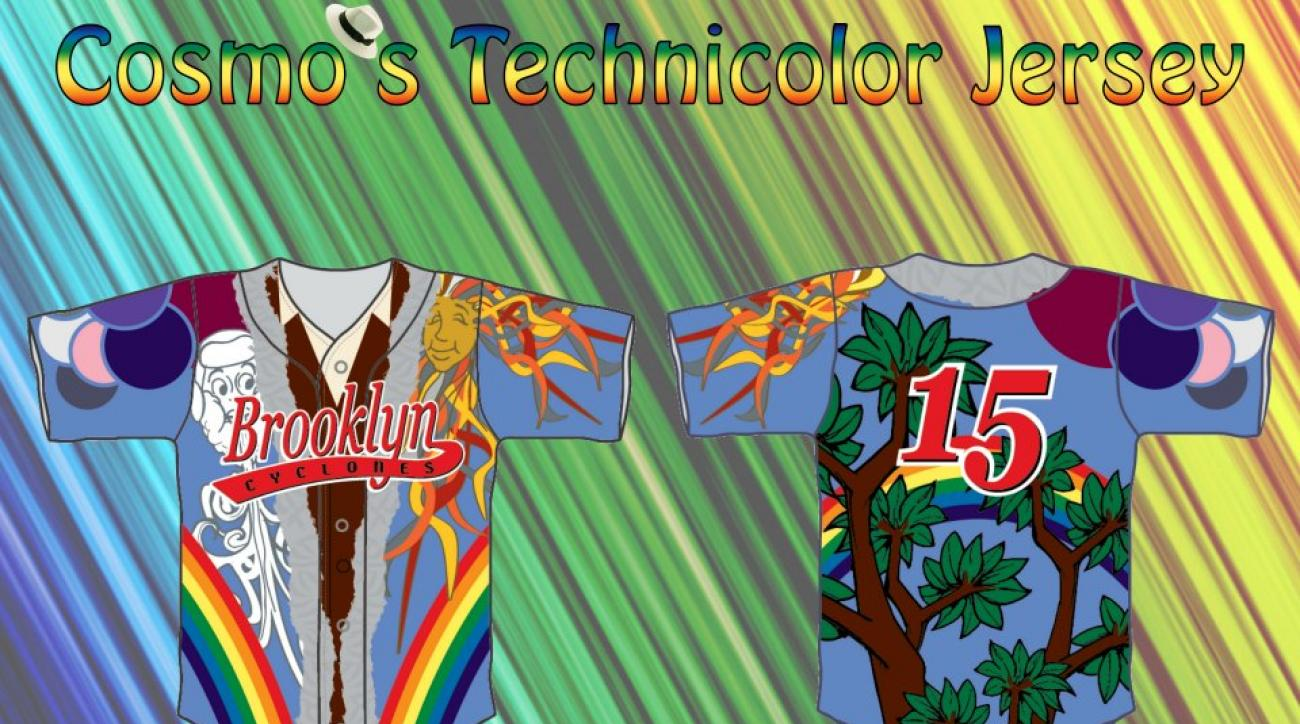 Seinfeld night Technicolor dreamcoat jerseys