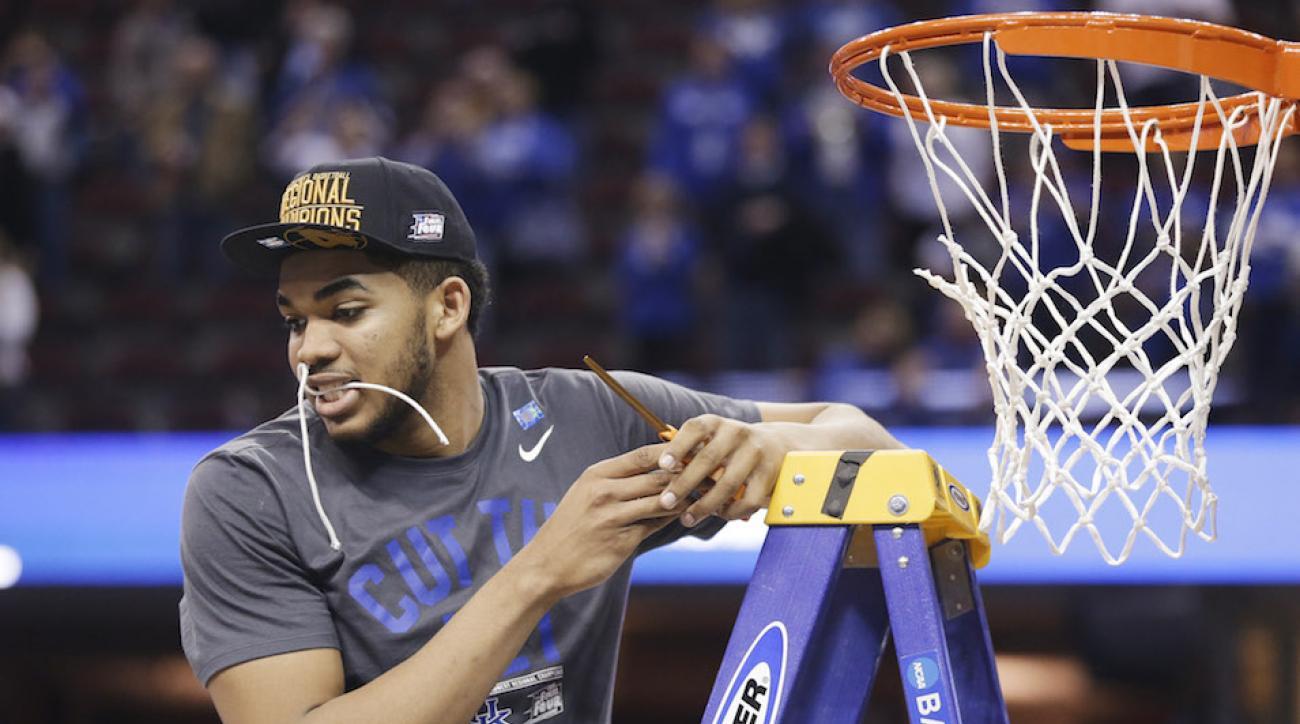 Kentucky perfect season towns 2015 nba draft