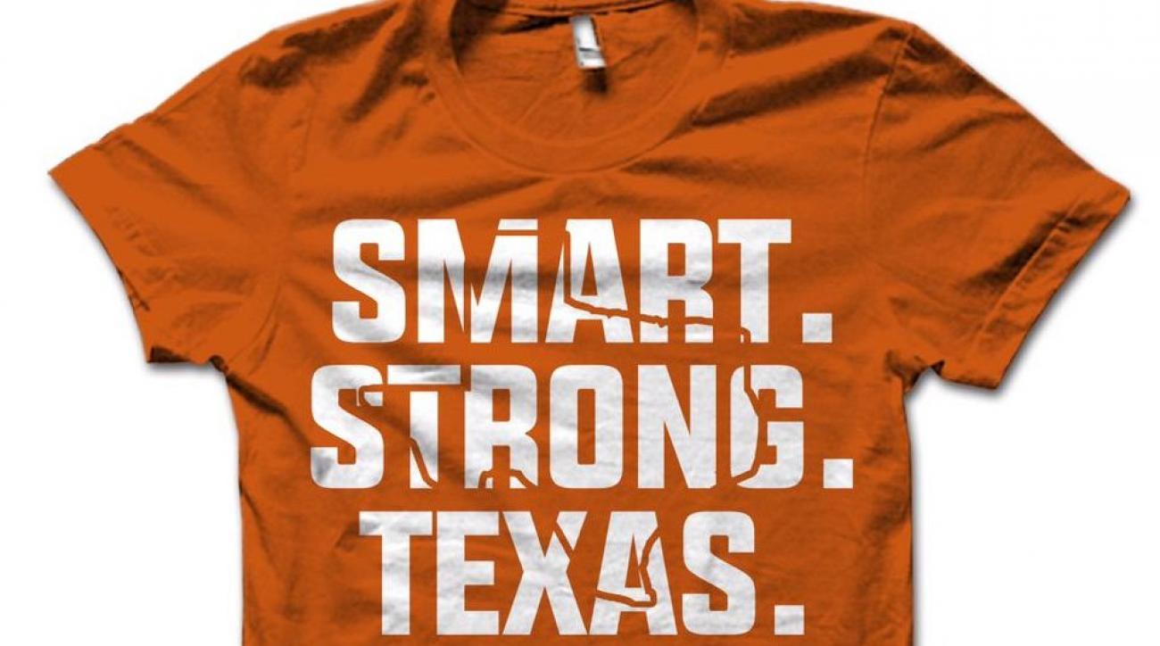 Texas fan sell Smart Strong Texas shirts