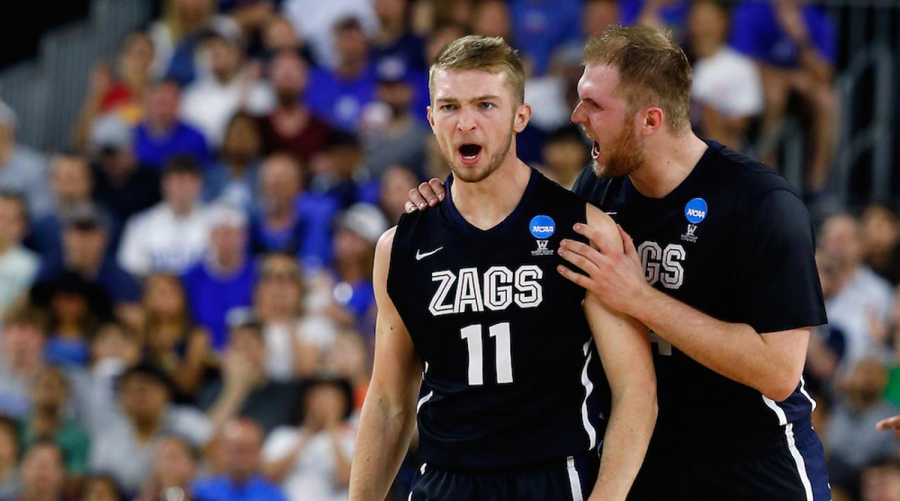 Domantas Sabonis gonzaga return sophomore season
