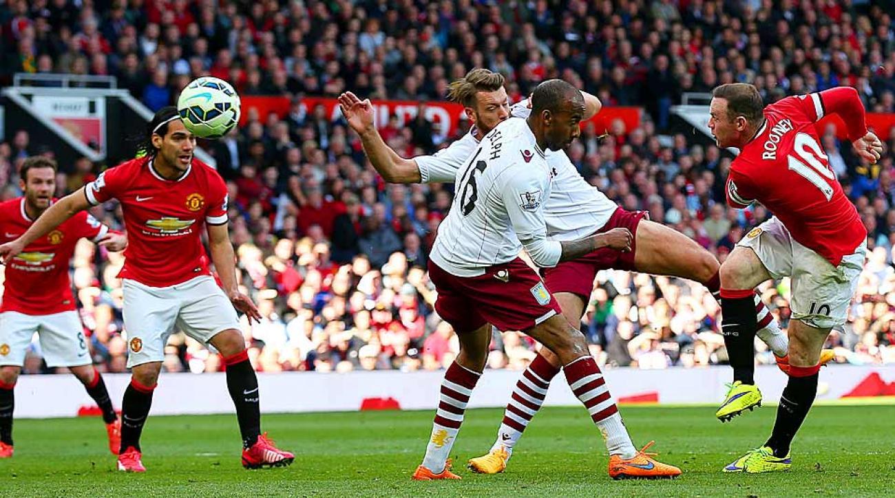 Wayne Rooney goal vs. Aston Villa