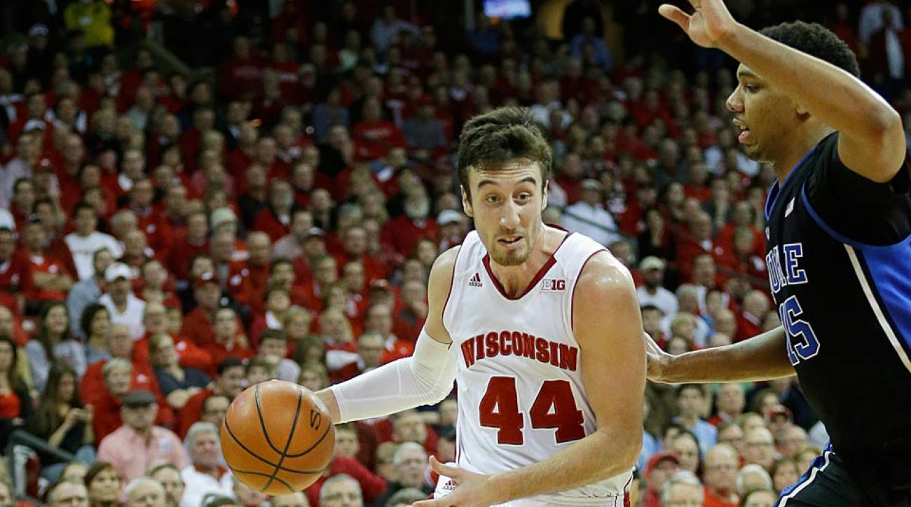 Frank Kaminsky Wisconsin vs. Duke