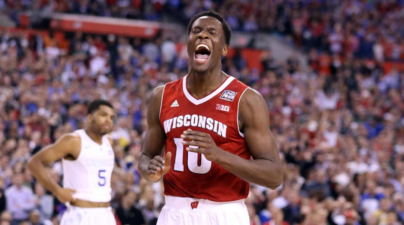 Nigel Hayes explains how he chooses his big words.