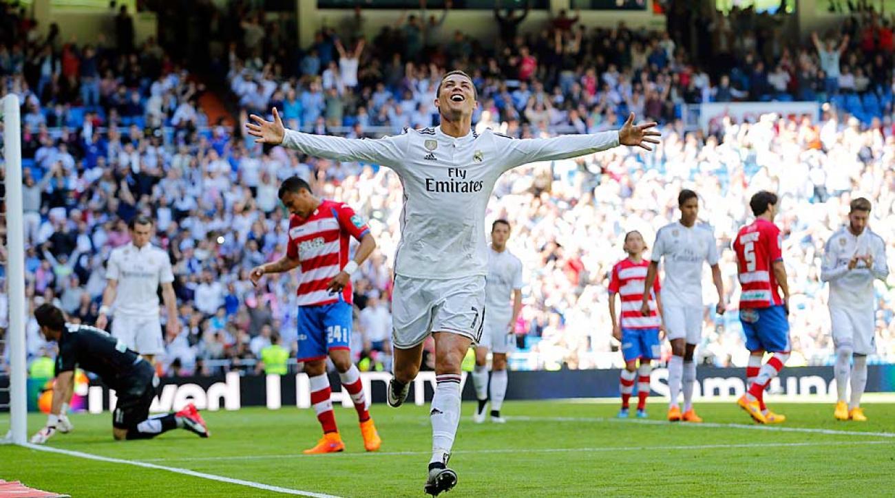 Ronaldo 5 goals vs. Granada