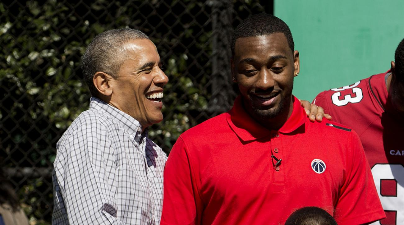 Barack Obama and John Wall