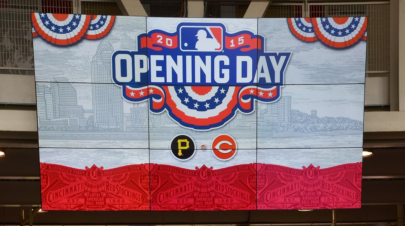 mlb opening day players twitter