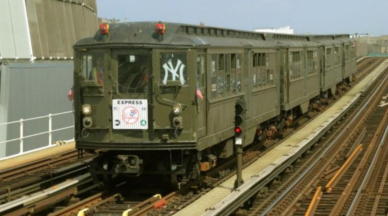 Yankees fans can take 1917 subway train to game on Opening Day