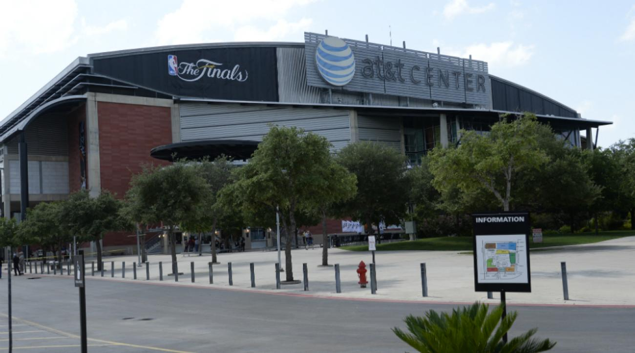 at&t center upgrades san antonio spurs