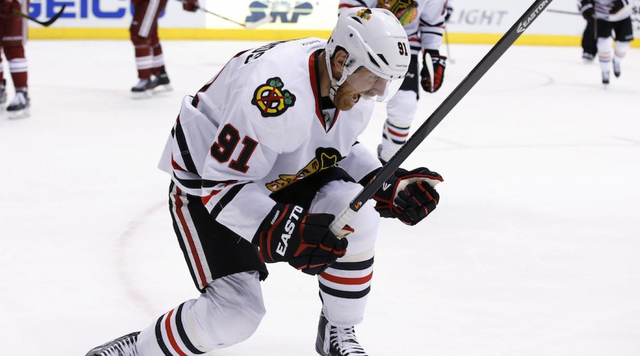 Brad Richards Chicago Blackhawks injury