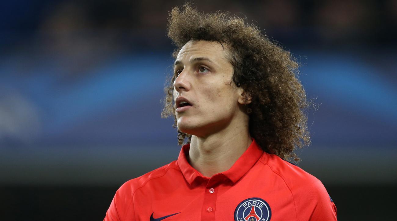 PSG David Luiz hamstring injury out