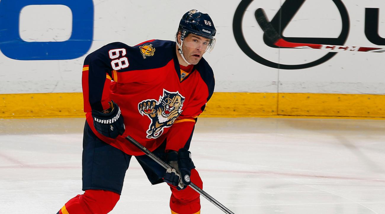 Florida Panthers Jaromir Jagr