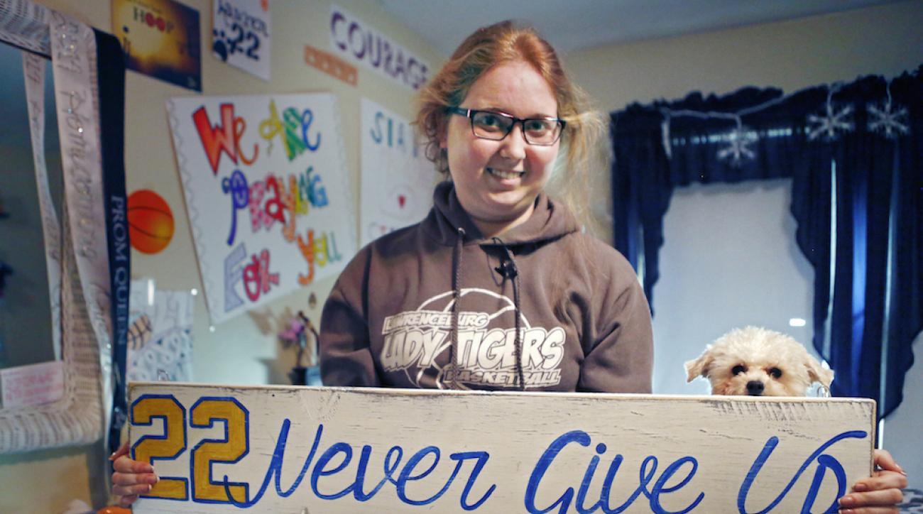 lauren hill fundraising cancer research