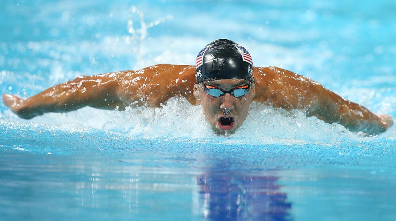 Michael Phelps suspension return