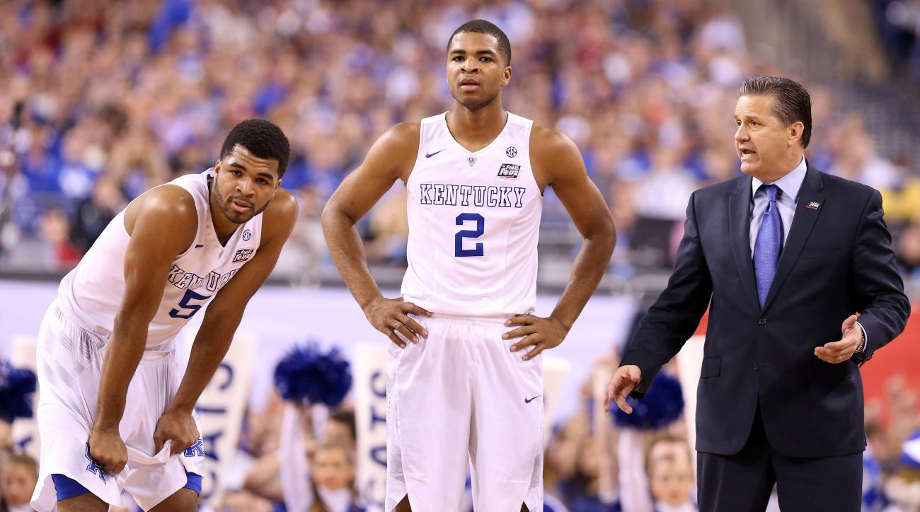 Andrew, Aaron Harrison declare NBA draft