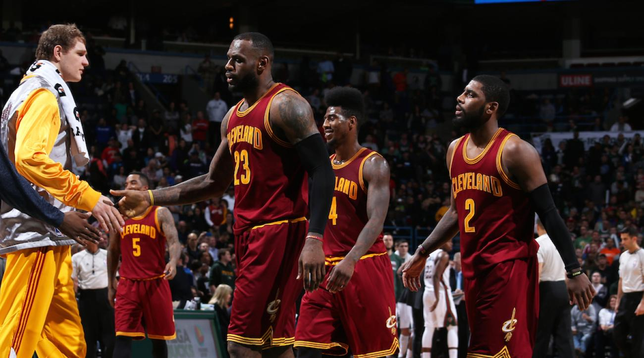 cleveland cavaliers lebron james kyrie irving