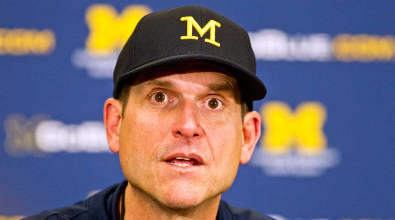 harbaugh michigan censorship muslim depiction american